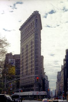 Great Buildings Image - Flatiron Building, New York, New York, 1902