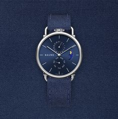 Discover Baume Watches : a unique experience to design your own custom watch. We create eco-friendly watches with minimalist design paired with quality. Communication Methods, French Signs, Tomorrow Will Be Better, Moon Phases, Omega Watch, Watches For Men, Top Mens Watches, Men Watches