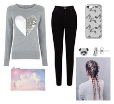 🦄🐼 by mack-belle on Polyvore featuring polyvore fashion style Oasis EAST Forever 21 Music Notes clothing