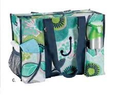 Zip-Top Organizing Utility Tote from Thirty-One Gifts 2015 Spring-Summer Collection (US) Various colors/prints available. https://www.mythirtyone.com/heavenlymama/