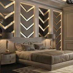 112 clever ideas how to craft modern style bedroom 40 Bedroom Furniture Design, Modern Master Bedroom Design, Luxury Living Room, Bed Furniture Design, Modern Bedroom, Modern Luxury Bedroom, Luxury Bedroom Master, Luxury Home Decor, Modern Style Bedroom