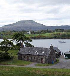 The boat house on Loch Dunvegan, Scotland