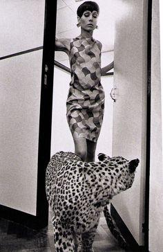Colin Glascoe, Vogue UK, 1966 by Helmut-Newton