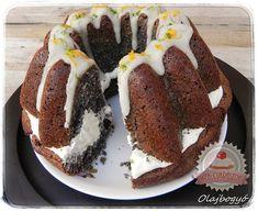 Narancsos-mákos kuglóf mascarponés krémmel Hungarian Cake, Hungarian Recipes, Ring Cake, Holiday Dinner, Winter Holiday, Pound Cake, Fudge, My Recipes, Cheesecake