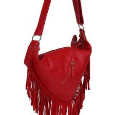 Gorgeous Small Red Leather Cross Body Handbag | Free Delivery | Fabhere.com.au