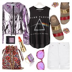 """""""Purple Touches"""" by stacey-lynne ❤ liked on Polyvore featuring MSGM, Kenzo, Topshop, Malìparmi, Les Néréides, Floyd, House of Holland, Madyha Farooqui and NARS Cosmetics"""