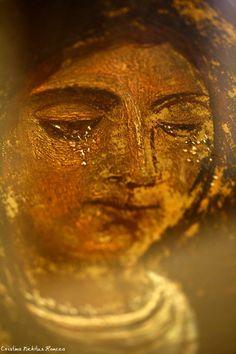 Maica Domnului plangand Sec XVI Manastirea Varatec - Foto Cristina Nichitus Roncea