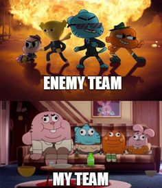 See more 'The Amazing World Of Gumball' images on Know Your Meme! Cartoon Games, Cartoon Shows, Cartoon Art, Cartoon Drawings, Cartoon Characters, Cartoon Wallpaper, Iphone Wallpaper, Amazing Gumball, Baguio