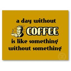 Coffee addict here! LOL