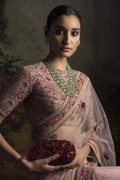 These Sabyasachi Saree are stunning in the designer saree spectrum! Find more Sabyasachi saree, Sabyasachi Lehenga and Sabyasachi Dress on Happy Shappy Sabyasachi Dresses, Saree Dress, Lehenga Choli, Desi Wedding, Saree Wedding, Bridal Sarees, Wedding Ideas, Saris, Indian Dresses