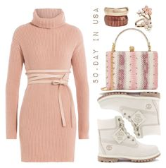 """""""50.day in USA"""" by elizcoco ❤ liked on Polyvore featuring Valentino, Rosantica, Timberland, Alexander McQueen and Accessorize"""
