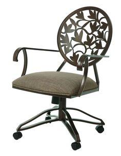 Brownsville caster chairPowell Hamilton Swivel Tilt Caster Dining Chairs   Set of 2  . Powell Hamilton Swivel Tilt Dining Chair On Casters. Home Design Ideas
