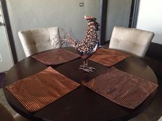Custom Copper Placemats