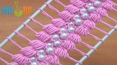 Video tejido con perlas                                                                                                                                                      Más