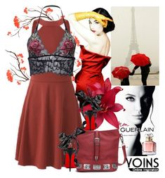 """""""Yoins-37 (177)"""" by irinavsl ❤ liked on Polyvore featuring Guerlain, Christian Louboutin, yoins, yoinscollection and loveyoins"""