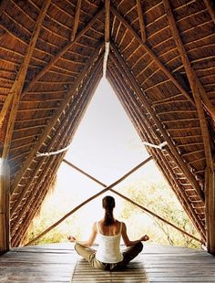 Gorgeous place for a yoga retreat.