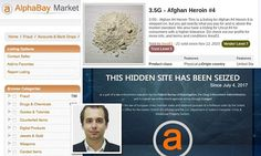AlphaBay shut down by the Justice Department | Daily Mail Online