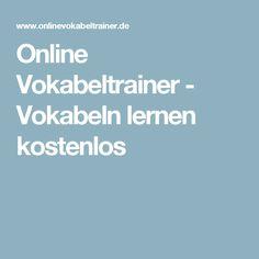 Online Vokabeltrainer - Vokabeln lernen kostenlos