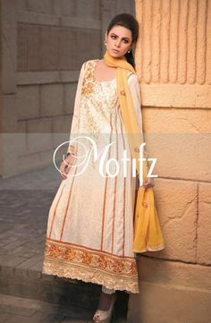 Motifz Summer Collection 2014 | Motifz Embroidered Summer Swiss Lawn 2014 http://juststylo.com