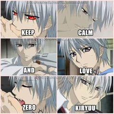 Keep Calm And Anime