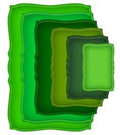 Spellbinders Nestabilities Curved Rectangles Dies,
