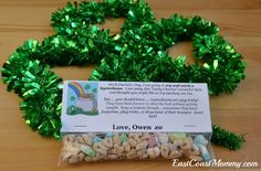 Magic Leprechaun Bait- fun St. Patrick's Day activity for kids!