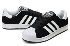Nowadays there is a great demand for sneakers on the market! Such shoes have reall. Adidas Superstar Shoes Black, Black Adidas, Sneakers Looks, Best Sneakers, Adidas Joggers, Adidas Shoes, Looks Baskets, Baskets Adidas, Superstars Shoes