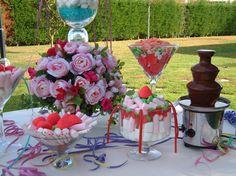 Una mesa de dulces que hará las delicias de mayores y pequeños. ¿Qué te parece para tu boda? #PradodelArca #Talavera #TalaveradelaReina #Bodas #Eventos #Catering #Amor #Wedding #Love #Comida #Celebraciones #CateringEventos #CateringBodas #CandyBar #Mesadedulces #Chucherias #Treats #Sweets #Rosas #Roses #Flores #Flowers #FonduedeChocolate #ChocolateFondue