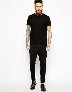 Image 4 ofASOS Slim Fit Smart Joggers In Jersey