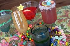Red Bull Candy Cocktails: Sweetest Sweet Tart, Jolly Rum Rancher, Sour Patch Margarita, Sparkling Sunburst, & Skittle-tini
