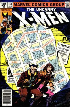 X-MEN Vol1 141 (1981) | Days of the Future Past | Major EVENTS of the Marvel UNIVERSE