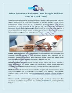 Where Ecommerce Businesses Often Struggle and How You Can Avoid Them Website Design Services, Building A Website, Ecommerce, Canning, Business, E Commerce, Business Illustration, Conservation