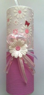 Voorbeeldkaart - Koker kadoverpakking - Categorie: Kado verpakking - Hobbyjournaal uw hobby website Tin Can Crafts, Crafts To Make, Arts And Crafts, Paper Crafts, Pringles Can, Craft Projects, Projects To Try, Painted Jars, Diy Cardboard