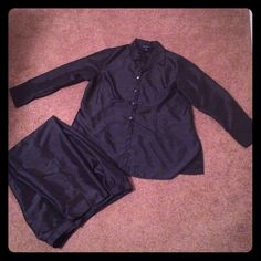 One hour Sale Lane bryant workwear plus size Black Classic set great for work worn ones still like new 18/20 Lane Bryant Pants