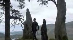 Jamie and Claire ~ Falling