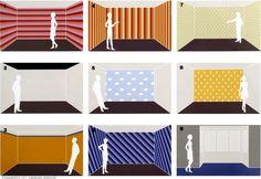 Tolle Wandgestaltung Mit Farbe 100 Wand Streichen Ideen 65 Wand Streichen  Ideen Muster Streifen Und Struktureffekte Wandgestaltung Ideen 21 748  Bilder ...