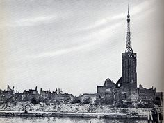 """""""Elbing"""" Prussia after the war- Preußen in der Nachkriegszeit Danzig, Malaga, Willis Tower, Empire State Building, Old Town, Wwii, Poland, The Past, Boat"""