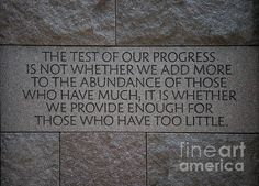 Word to live by from FDR.