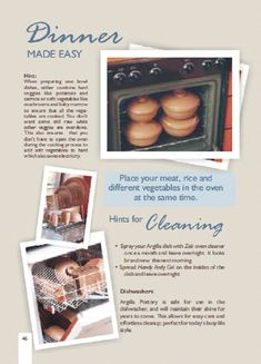 Oven Vegetables, Different Vegetables, Cookware, Make It Simple, Pottery, Dinner, Easy, Diy Kitchen Appliances, Ceramica