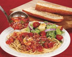 My Version of Mom's Spaghetti Sauce - Recipes at Penzeys Spices