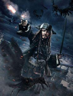 Pirates of Caribbean Captain Jack Sparrow, Jake Sparrow, Jack Sparrow Quotes, Disney Pixar, Film Disney, Pirate Art, Pirate Life, Caribbean Art, Pirates Of The Caribbean