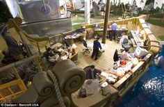 Pixar has amazing offices, but Inventionland has PIRATE SHIP OFFICES