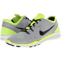 Nike Free 5.0 TR Fit 5 Women's Cross Training Shoes, Gray ($80) ❤ liked on Polyvore featuring shoes, athletic shoes, grey, cross trainer shoes, womens athletic shoes, crosstrainer shoes, famous footwear y cross training shoes
