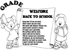 Easy Back to School Poems | BACK TO SCHOOL (poem)