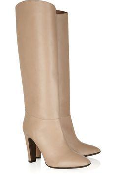 Valentino Leather Knee Boots - LoLoBu
