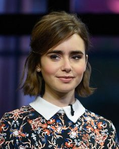 LILY COLLINS HAIR GOALS
