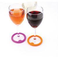 Posavasos y marcacopas. 2 en 1.  #vino #invitados #joie #copasdevino