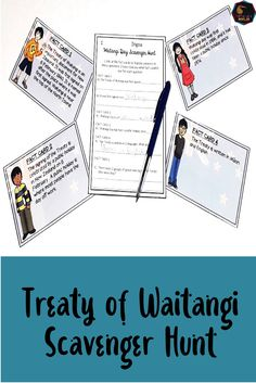 Waitangi Day Scavenger Hunt for New Zealand Classrooms. Are you looking for an activity that explains the Treaty of Waitangi in an accessible and engaging Montessori Elementary, Upper Elementary, Treaty Of Waitangi, Waitangi Day, Class Games, Classroom Environment, Teaching Resources, New Zealand, Back To School