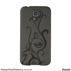 Vintage Floral Pattern Galaxy S5 Cases