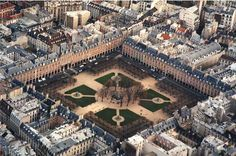 Place de Vosges (17th century) in the Marais - an absolute Paris favorite